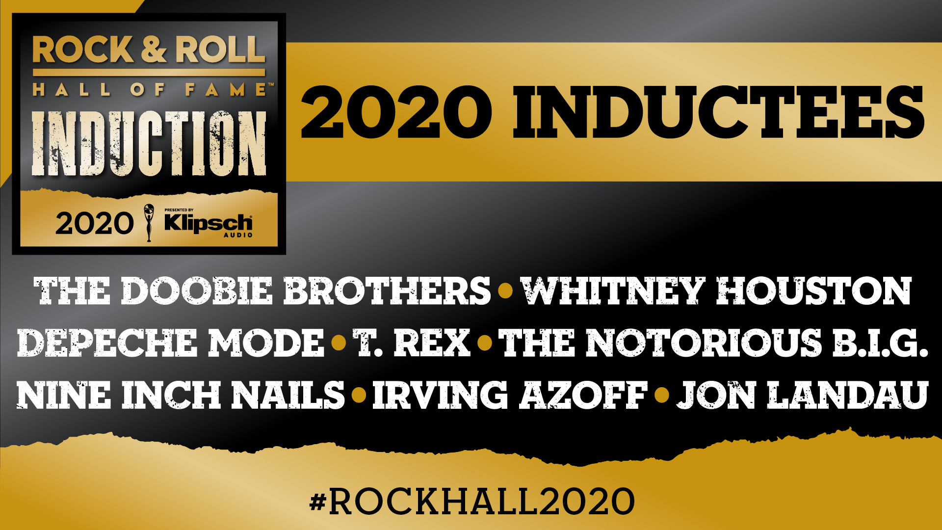 Resultado de imagem para rock and roll hall of fame 2020